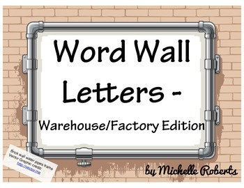 Brick Wall Word Wall Headers