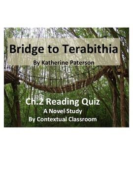 Bridge to Terabithia Ch.2 Reading Quiz