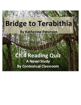 Bridge to Terabithia Ch.4 Reading Quiz