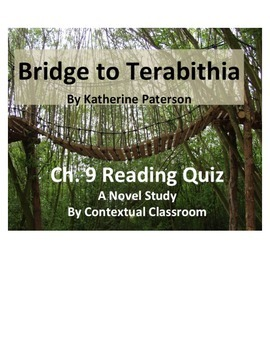 Bridge to Terabithia Ch.9 Reading Quiz