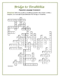 Bridge to Terabithia: Figurative Language Crossword--Fun a