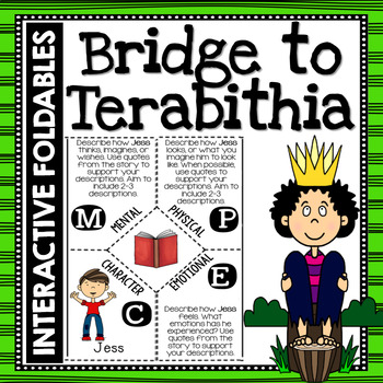 Bridge to Terabithia: Reading and Writing Interactive Note