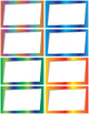Bright Angled Frames/Borders (Full Page/Half Page/Quarter