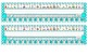Bright Blue Polka Dot Desk Reference Nameplates