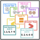Bright & Bold Math Posters