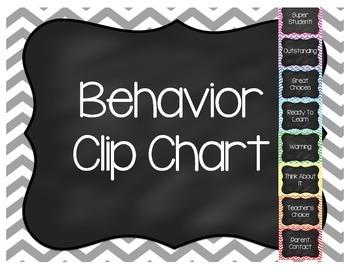 Bright Chevron Clip Chart