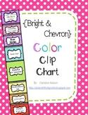 Bright & Chevron Color Clip Chart