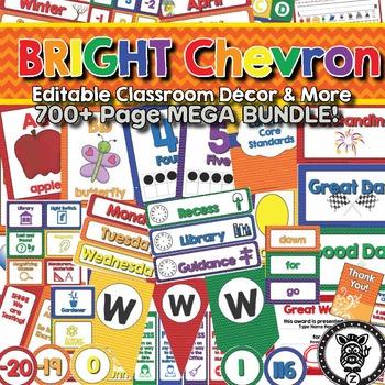 Bright Chevron Theme - new blue