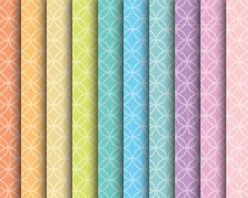 Bright Circle Papers, Bright, Circle, Set #245