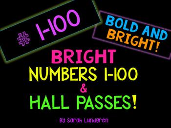 Bright Classroom Numbers 1-00