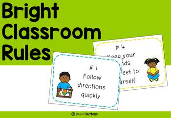 Bright Classroom Rules