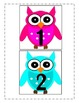 {Bright Colored} Owl Themed Growing Number Line