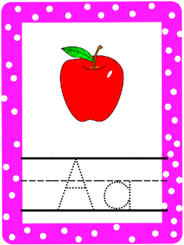 Bright Colors Alphabet Line