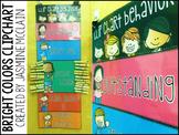 Bright Colors Clip Chart (Melonheadz Themed)
