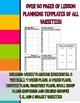 Bright Colors Teacher Binder Organization Bundle w/ Editab