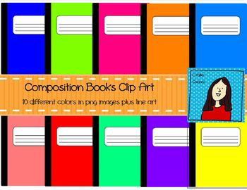 Bright Composition Notebooks