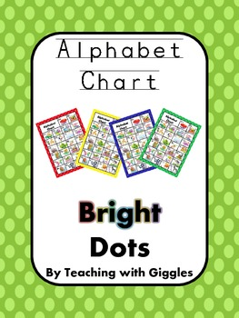 Bright Dots Alphabet Chart