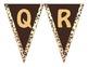 Leopard Print- Word Wall Alphabet Header Banner