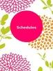 Bright Floral Teacher Binder Combo Pack (Editable)