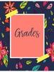 Bright Hawaiian Editable Teacher Binder