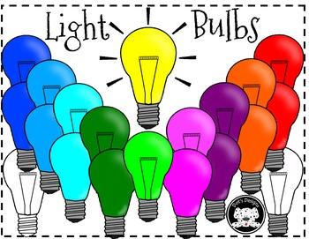 Bright Idea ~ Mulitcolored Light Bulbs