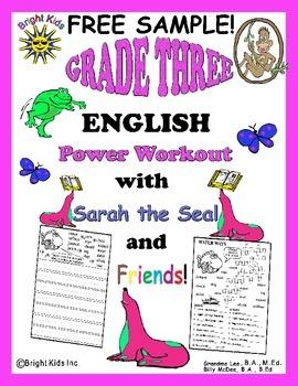 Bright Kids Grade 3 Word Power Workout - FREE SAMPLE!