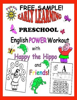 Bright Kids Preschool Word Power Workout - FREE SAMPLE!