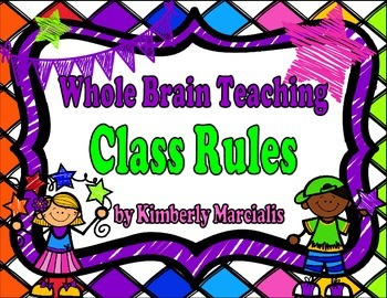 Bright Kids Whole Brain Teaching Class Rules