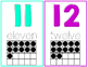 Bright Numbers 1-20 Posters