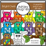 Bright Owls {Graphics for Commercial Use}
