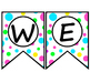 Bright Polka Dot Classroom Theme Decor