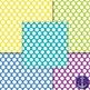 Bright Polka Dot Digital Papers Bundle