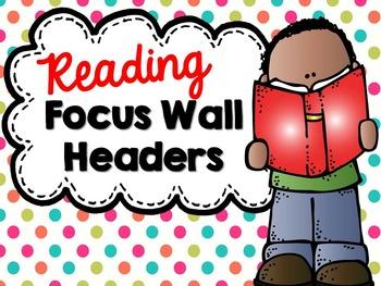 Bright Polka Dot Focus Wall