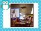 Bright Polka Dot Table Signs with Owl {A, E, I, O, U} usin