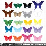 Clipart - Butterflies