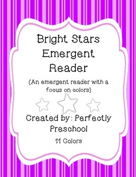 Bright Stars Color Emergent Reader