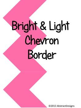 Bright and Light Chevron Border