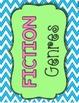 Bright/Chevron Literary Genre Posters {Fiction & Non-Fiction}