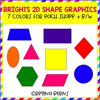 Brights 2-D Shape Clipart