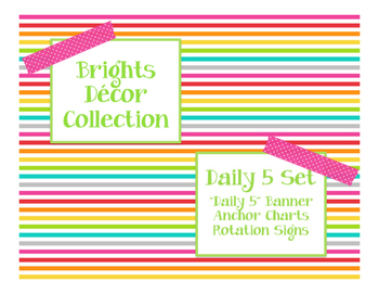 Brights Decor: Daily 5 Set