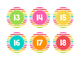 Brights Decor: What Stuck With You Today? Poster Kit