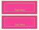 Brights Decor: Editable Nameplates