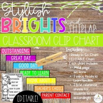 Brights & Shiplap Clip Chart