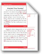 Bring Back 'Pizza Thursdays' (Gr. 5/Week 4)