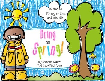 Bring on Spring! {Interactive Literacy Centers, Activities