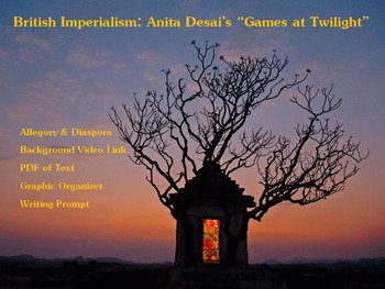 "British Imperialism: Desai's ""Games at Twilight"" – Allegor"