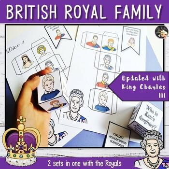 British Royal Family - Conversation Cubes