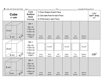 Brocci Bundles: Surface Area Volume Changing Dimensions Cu