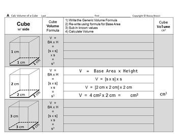 Brocci Bundles: Volume - Volume of Triangular & Rectangula