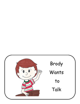 Brody Wants to Talk